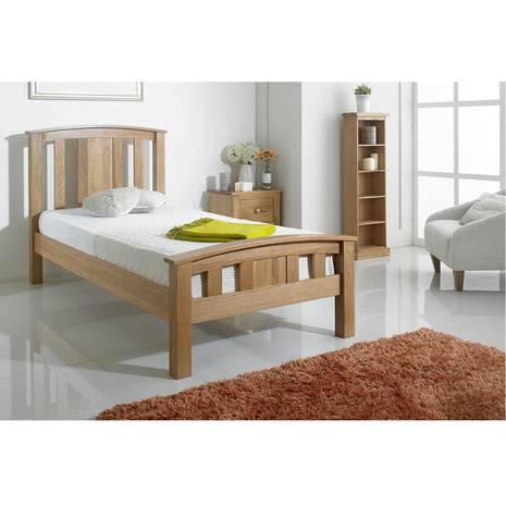 Giường gỗ sồi Royal đơn