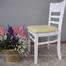 Bộ bàn ăn 4 ghế Ulsan màu trắng 4