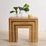 Bộ bàn xếp lồng Romsey gỗ sồi