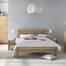 Giường đôi Casa gỗ sồi