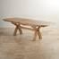 Bàn ăn mở rộng Rivermead gỗ sồi