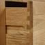 Tủ trữ đồ Rivermead cánh kính gỗ sồi
