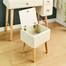 Ghế trang điểm Rora - Ivory gỗ tự nhiên