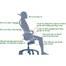 Ghế lưới văn phòng cao cấp Jupiter minh họa