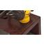 Kệ Tivi Shiga màu nâu gụ - cận cảnh3