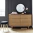 Tủ ngăn kéo 6 ngăn Portobello phong cách Vintage gỗ tự nhiên