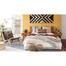 Tủ đầu giường 1 ngăn Portobello phong cách Vintage gỗ tự nhiên