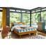 Giường pano đôi Portobello phong cách Vintage gỗ tự nhiên 1m4